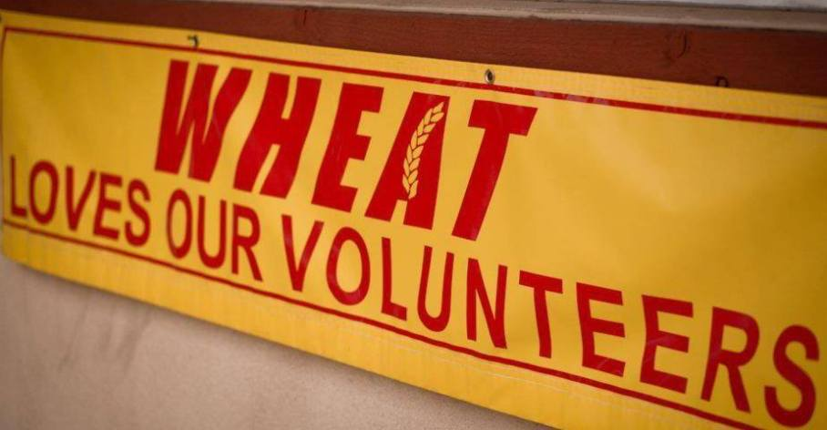 WHEAT VolunteerBanner