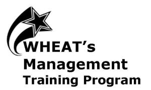 WHEAT'S MANAGEMENT