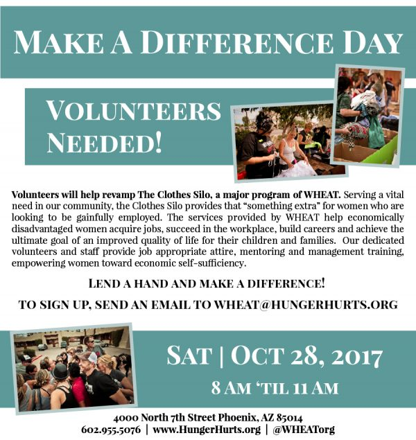 Fall 2017 Make A Difference Day