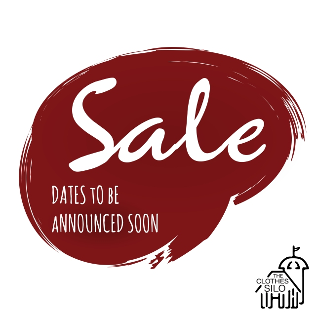 Clothes Silo Clearance Sale Announcement-01
