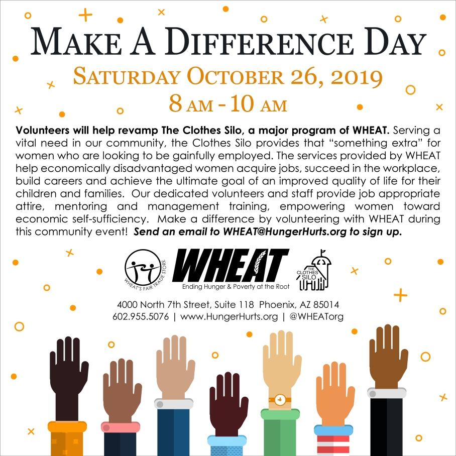 WHEAT Make A Difference Day 2019
